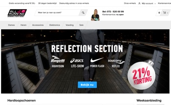 all4running website