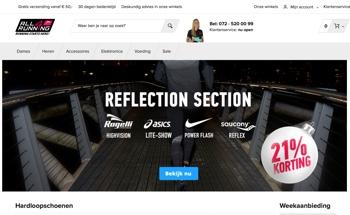 all4running website