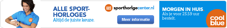 coolblue sporthorloges abnner