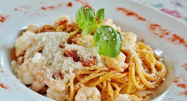 pasta maaltijd voor hardlopen