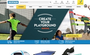 decathlon website