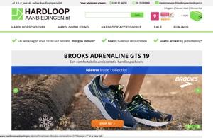 hardloopaanbiedingen.nl website
