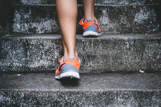 lichtgevende schoenveters bij hardlopen