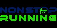 non stop running logo