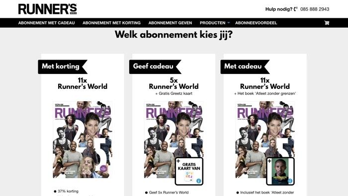 runner's world abonnementen