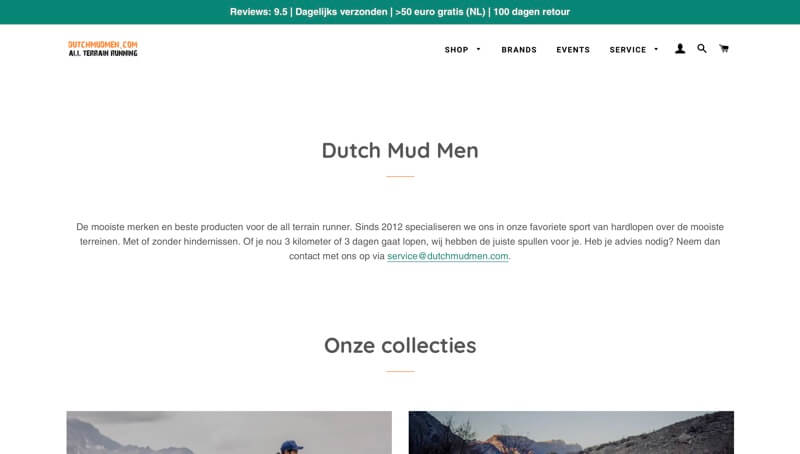 Dutch Mud Men website