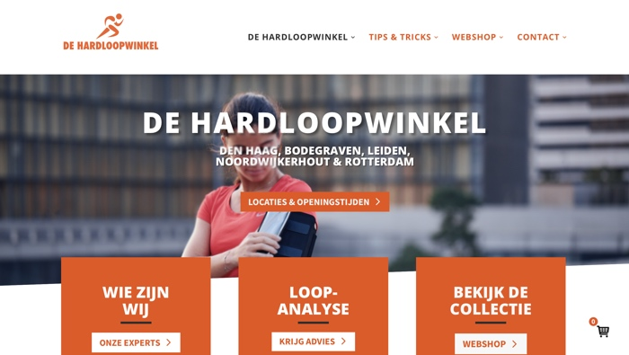 website de hardloopwinkel