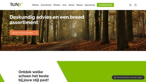 runx.nl website